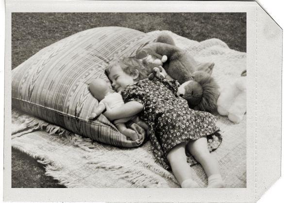 happy cushion outdoors